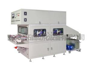 Eight-position auto mirror glass grinding edge chamfering Machine