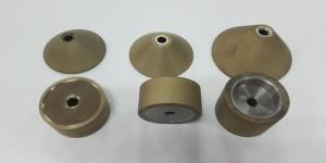 Special diamond grinding wheel for automobile mirror grinding Edge chamfering